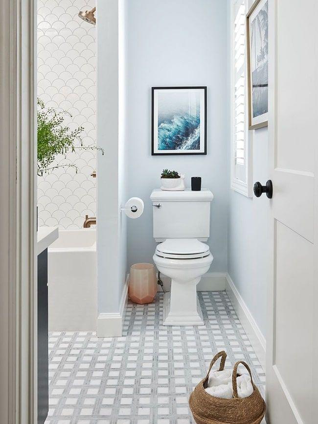 Baños azules. Inspiración para cuartos de baño en color ...