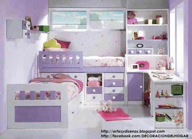 Dormitorio Lila Y Blanco Decoración De Habitación Femenina Dormitorio De Chicas Adolescentes Decoración Dormitorio Niña