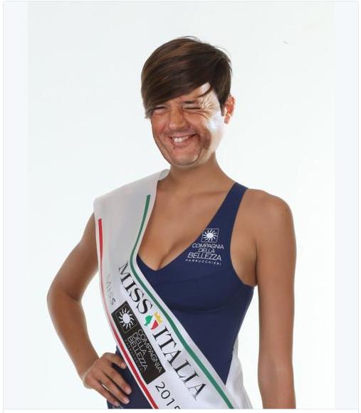 Miss Italia 2015 vorrebbe vivere nel 1942, con Renzi siamo nel 1942.