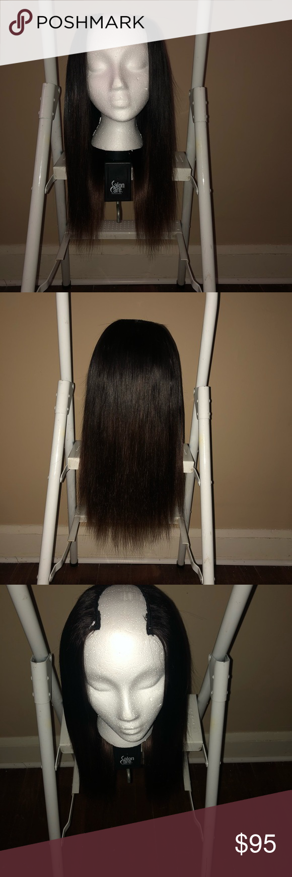 Ombre U-Part Wig Handmade using 3 bundles of Brazilian 14,16,16 inch hair. Can be straightened, bleached, dyed, and curled. Accessories Hair Accessories #brazilianstraightening Ombre U-Part Wig Handmade using 3 bundles of Brazilian 14,16,16 inch hair. Can be straightened, bleached, dyed, and curled. Accessories Hair Accessories