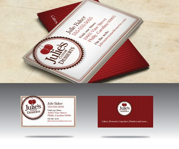 Awesome Free Bakery Shop Business Card Template Available For Free