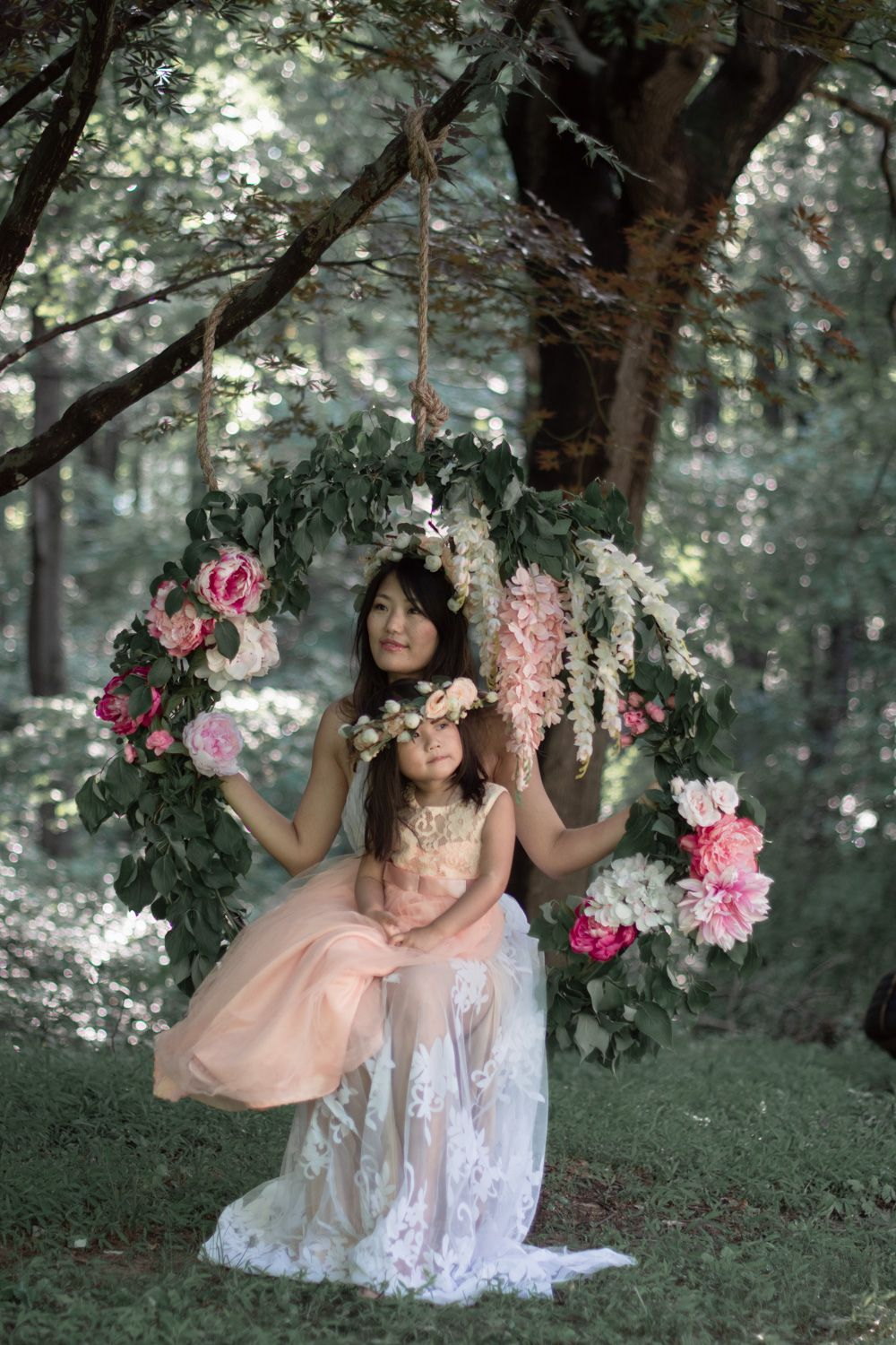 How to Build a Flower Swing for under 50 as a Photography