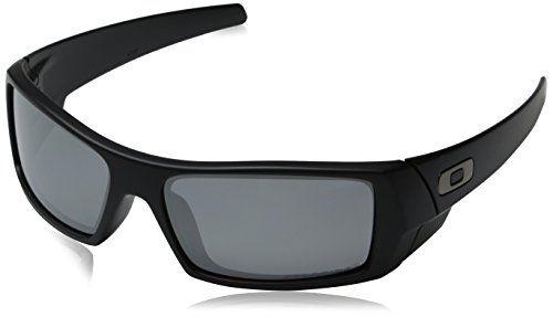 Oakley Menu0027s GasCan Sunglasses,Matte Black Frame/Grey Lens,One Size Oakley  Http