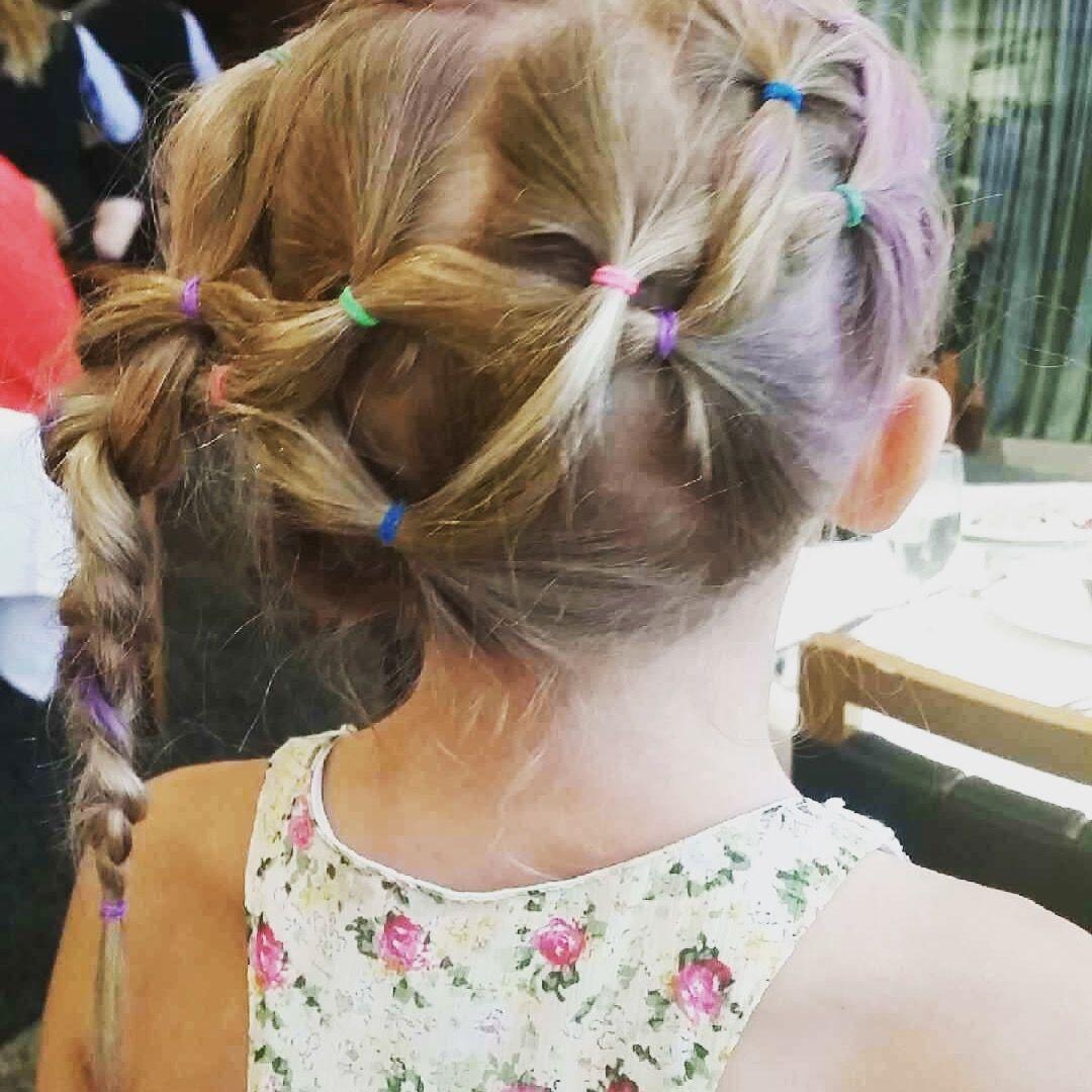 Easy hairdo for little girls girl hair pinterest girl hair
