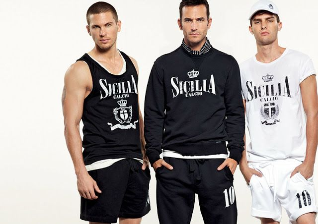 The Style Examiner: Dolce & Gabbana Spring/Summer 2013 Gym