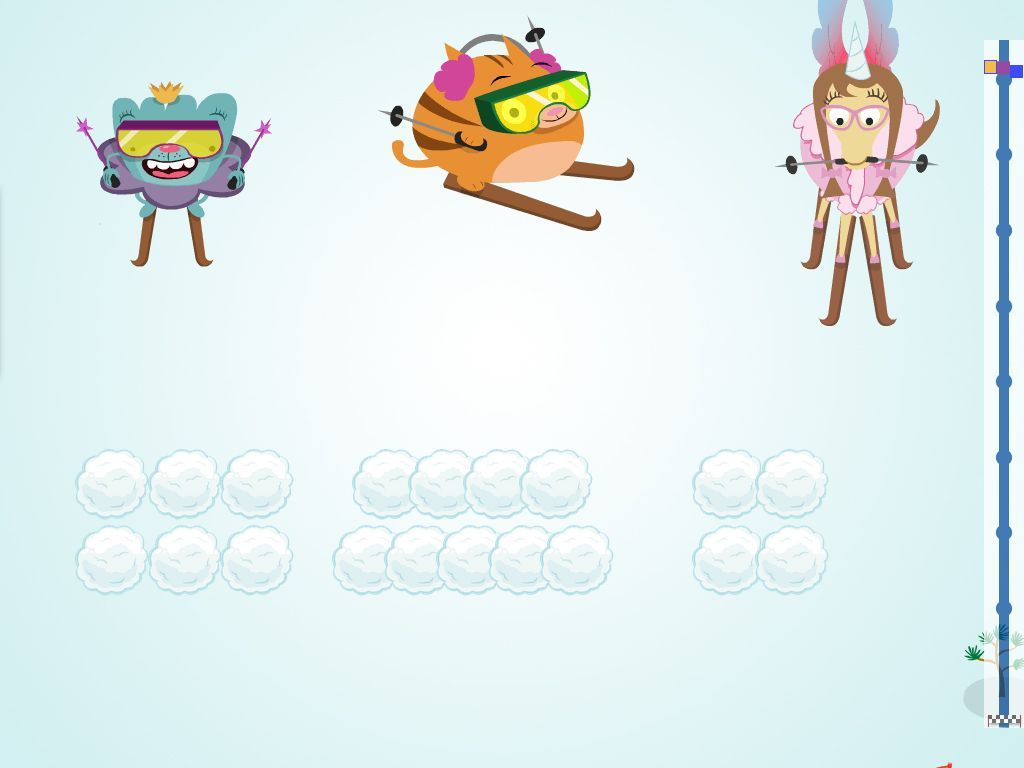 Numbers Ski Racer - Math Game   M A T H   Pinterest   Gaming, Maths ...
