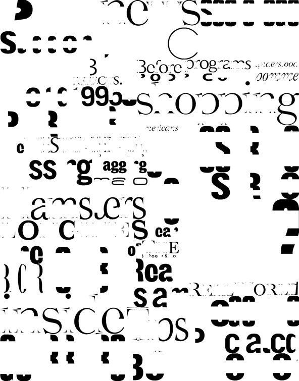 typography deconstructed visual poster typography graphic pinterest 타이포그래피