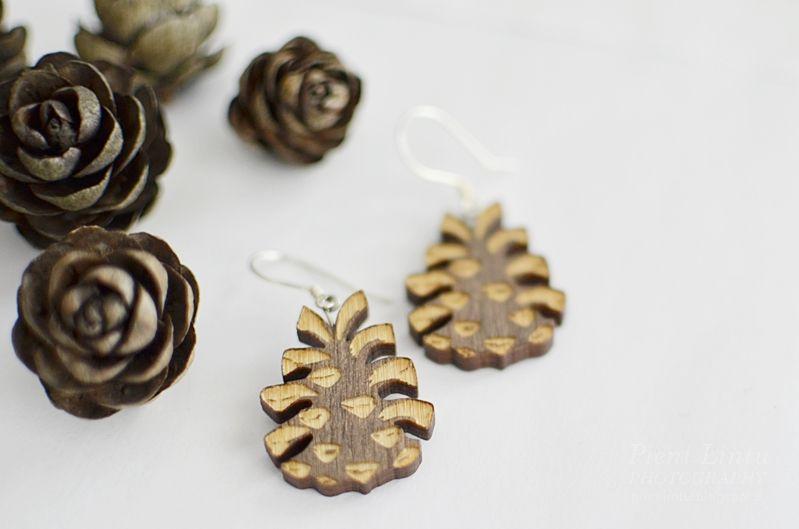 Earrings from Pinjapuu