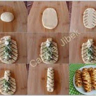 Değişik Poğaça Şekilleri Nasıl Verilir #طعام
