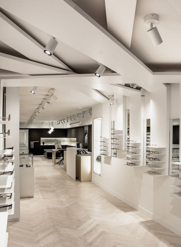 Holly eyewear store by 1point0 toronto canada retail - Interior design for retail stores ...