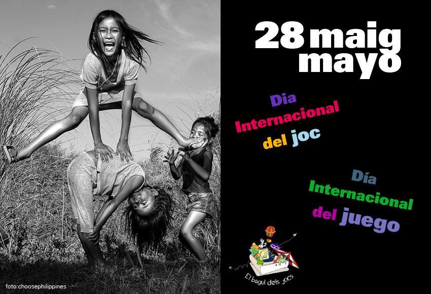 Feliç dia del Joc! JUGAR és un dret reconegut a l'article 31 de la Convenció sobre els Drets del Nen de les Nacions Unides.  ¡Feliz día del Juego! JUGAR es un derecho reconocido en el artículo 31 de la Convención sobre los Derechos del Niño de las Naciones Unidas.