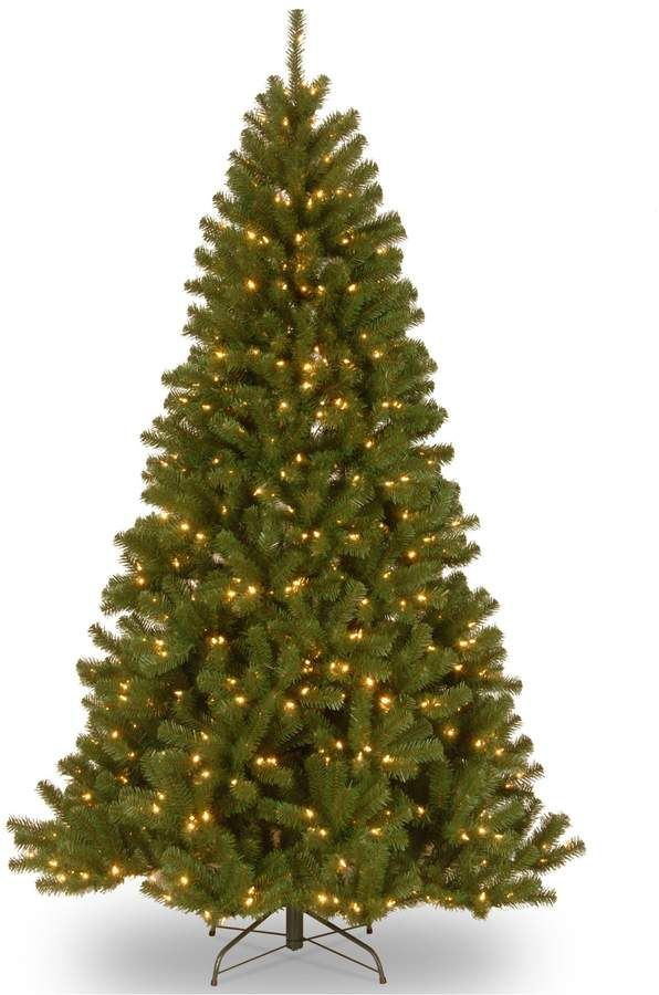 75-ft Pre-Lit Dual Color LED North Valley Spruce Artificial