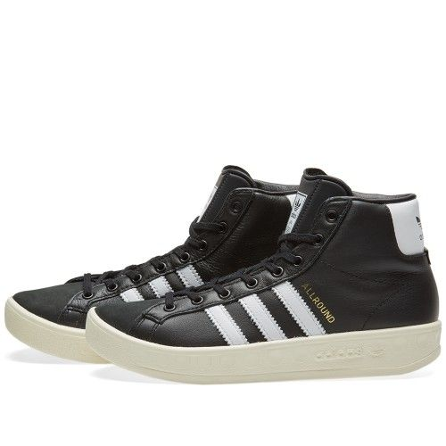 new high authentic new cheap Adidas Allround OG W (Core Black & White) | adidas all in ...