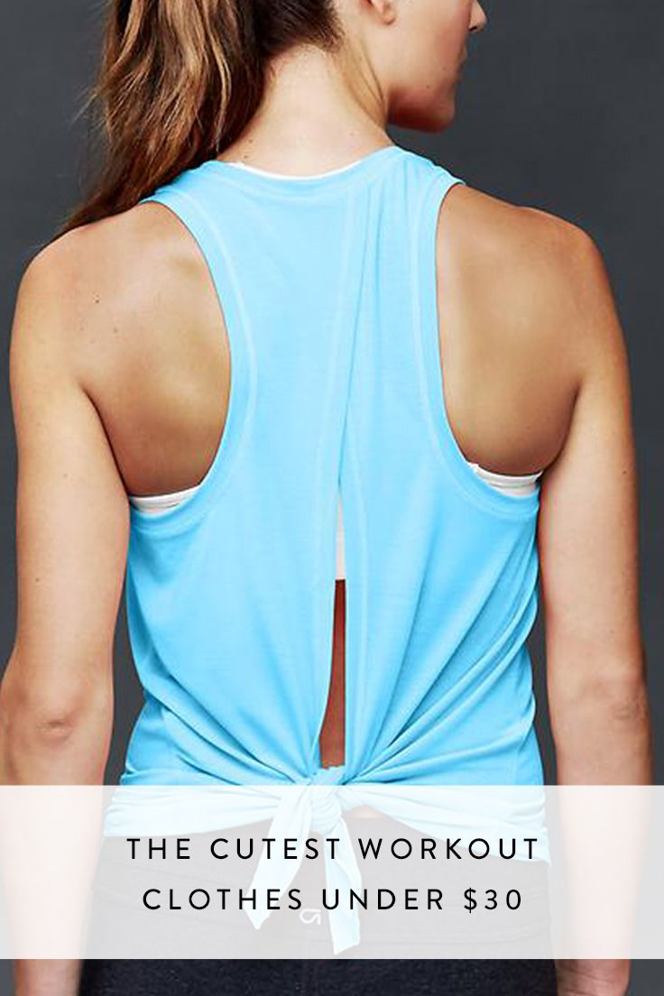 d2bd0dc4 The Cutest Workout Clothes Under $30 | Pre-Wedding Fitness Tips ...