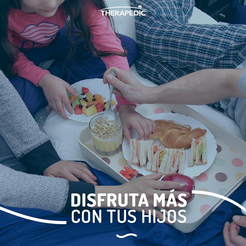 Prepara el desayuno para toda la familia la noche anterior. Así, evitarás contratiempos y ¡le ganarás al tráfico!