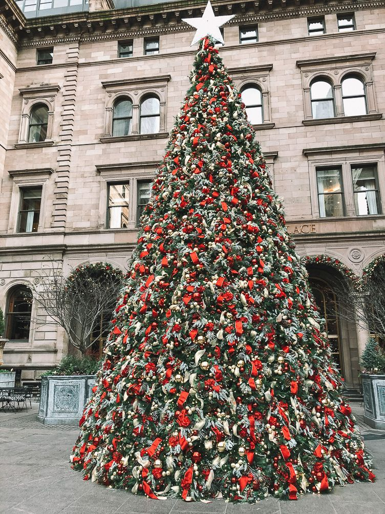 How To Spend Christmas In New York City Wanderlusters Travel In 2020 New York Christmas Nyc Christmas New York City