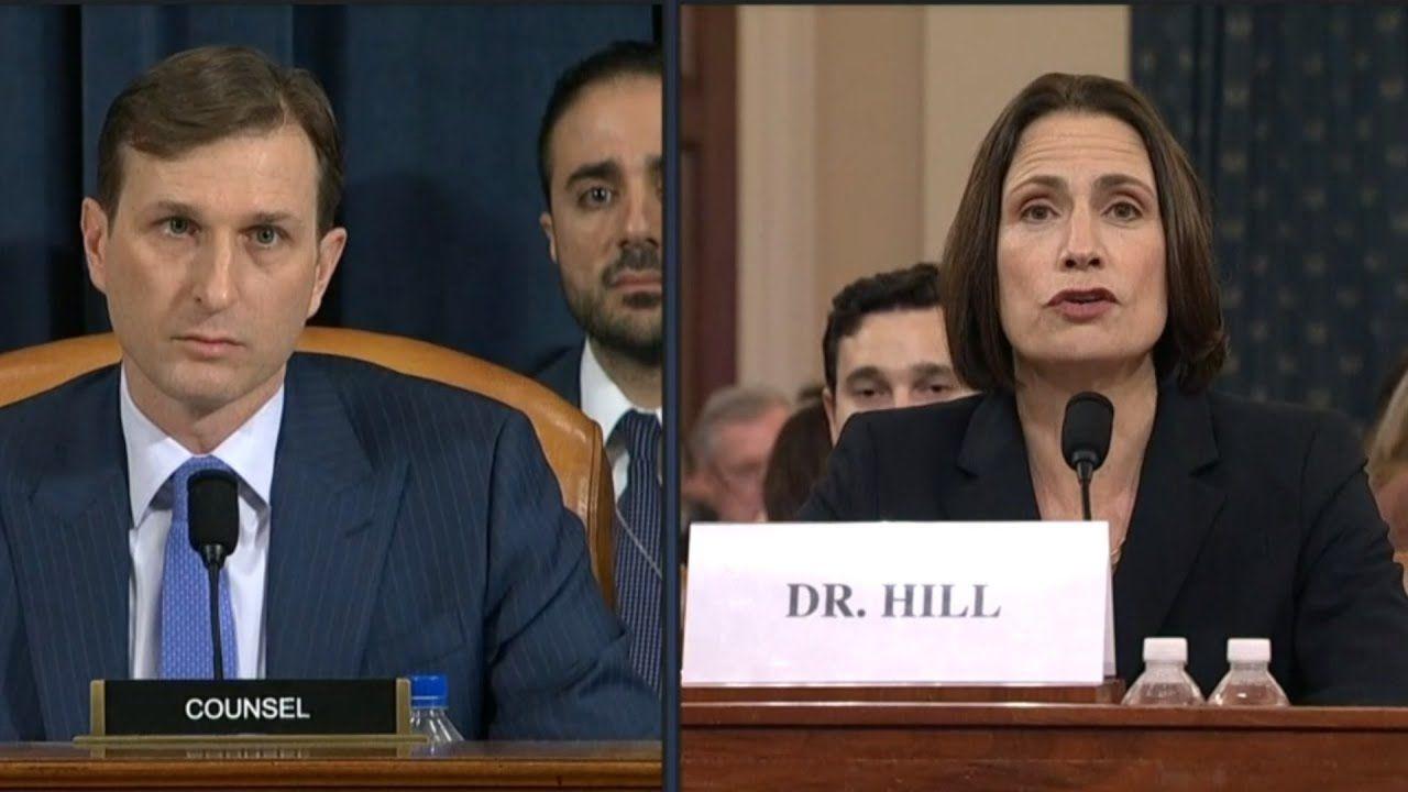 Hill Says John Bolton Warned Officials That Rudy Giuliani Was A Hand Gr Rudy Giuliani Bolton National Security Advisor