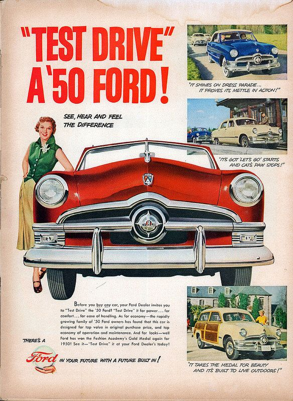 1950 Ford Advertisement Life April 24 1950 Car Ads Classic Cars Vintage Cars 1950s