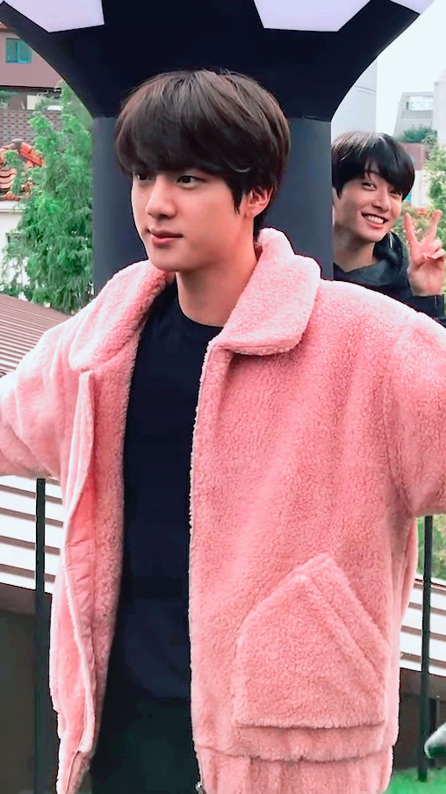 Episode Welcome To Bts Pop Up House Of Bts Kim Seokjin Worldwide Handsome Seokjin