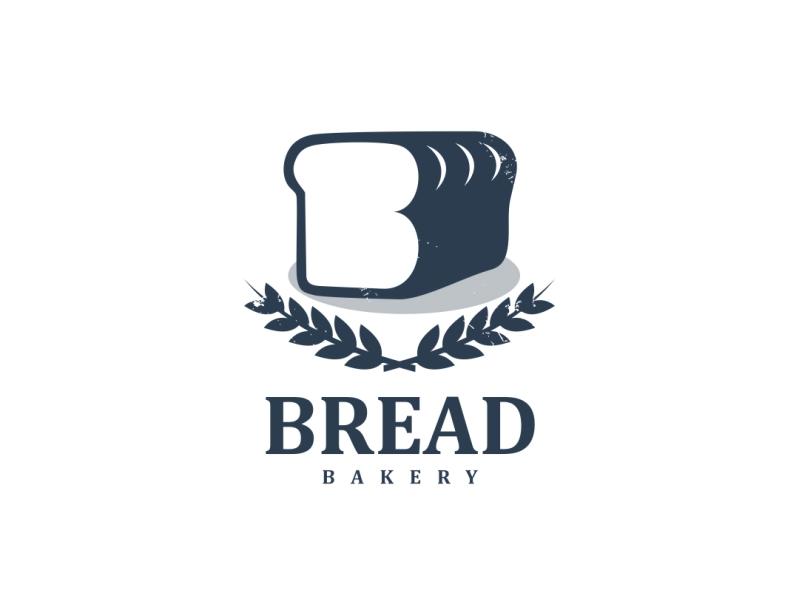 Bread Logo Mountain Logos Logo Design Logo Design Typography