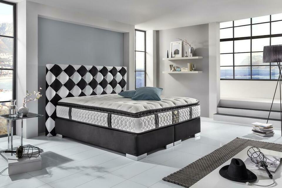 Schlafzimmer Boxspringbett Bett Hotelbett Kingsize Rabattaktion