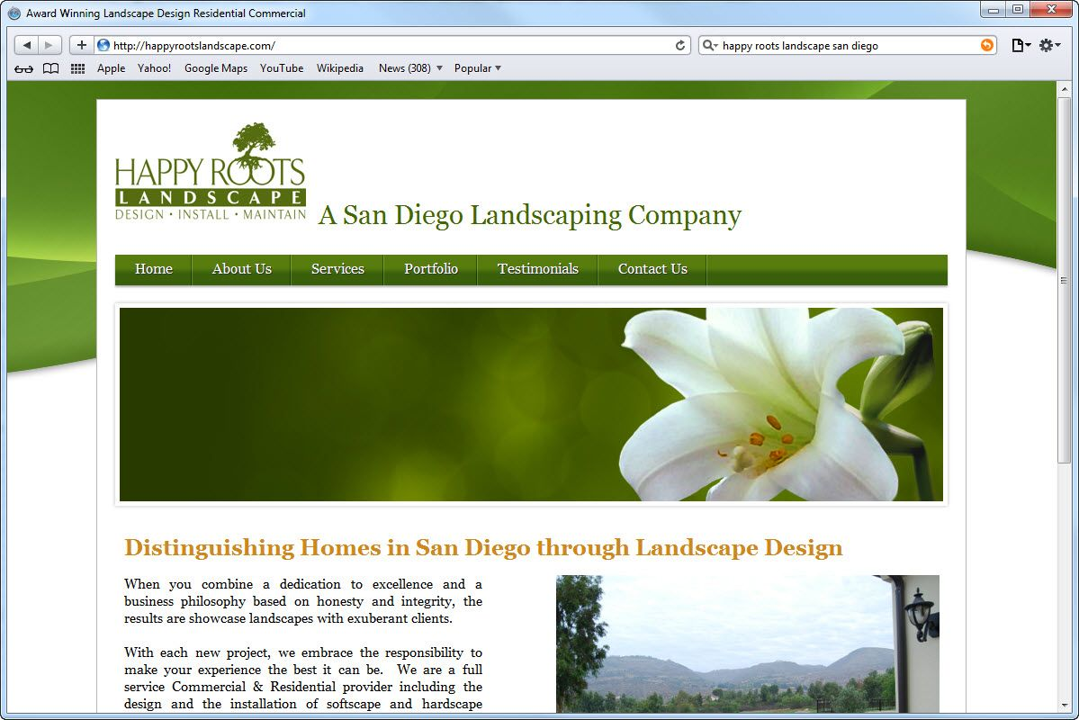 Good Home Page Website Design Google Search