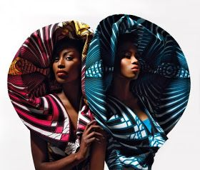 VLISCO - Créations folles et luxueuses de vêtements en tissu africain (WAX) #afrikanischerdruck