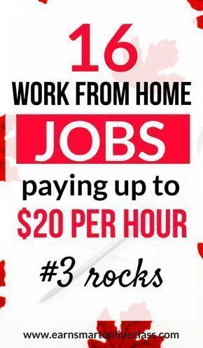 Need high paying work from home jobs to earn you $20 per hour or more? These 16 work form home jobs are paying $20 or more per hour. No degree required! #workfromhomejobs #onlinejobs #makemoneyonline #highpayingjobs #onlinejobsforstayathomemoms #sidehustles #howtomakemoney #workingfromhomejobs #legitworkfromhome #remotejobsathome #homejobs