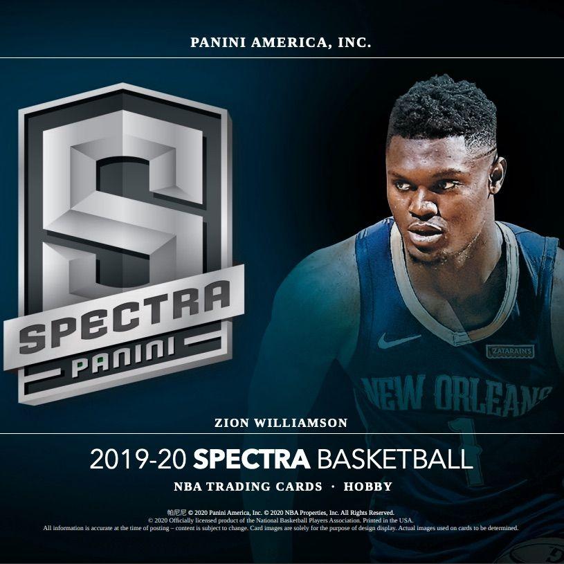 2019 20 Panini Spectra Basketball Checklist Nba Boxes Reviews