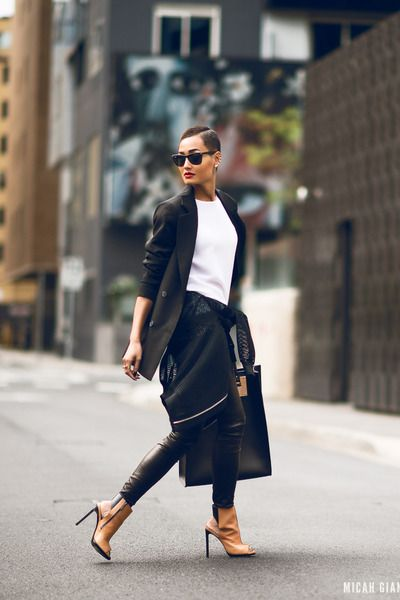 """Black+Micah+Gianneli+Micah+Gianneli+Tops+