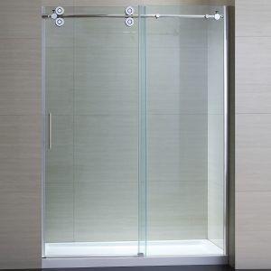 frameless shower door sweep insert