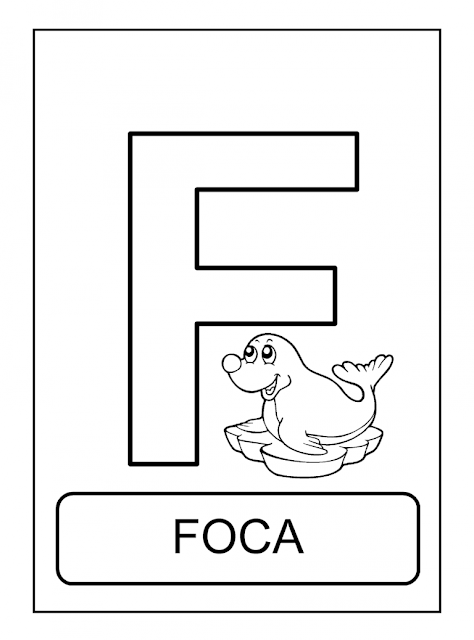 Alfabeto De Animais Para Colorir Pintar Imprimir Animais Para