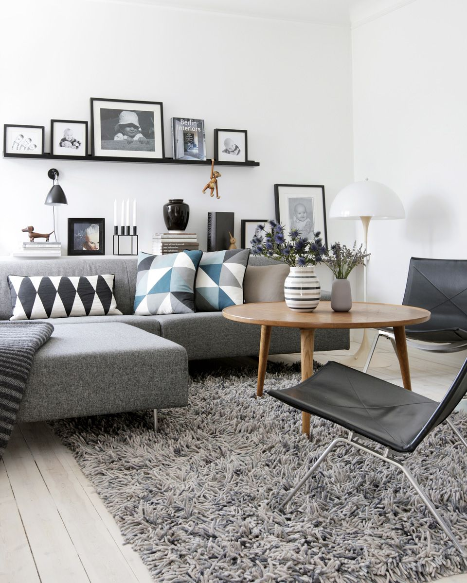 canape deco salon scandinave - Deco Scandinave