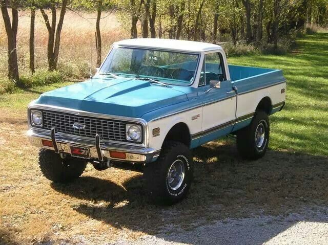 72 K10 4 Lift And 35 S Country Livin Pinterest Chevy Trucks