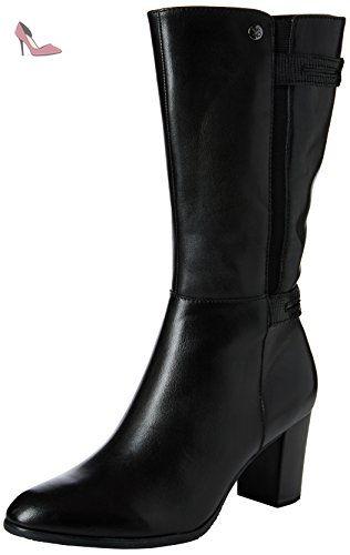 25602, Bottes Classiques Femme, Noir (Black Comb 019), 37.5 EUCaprice