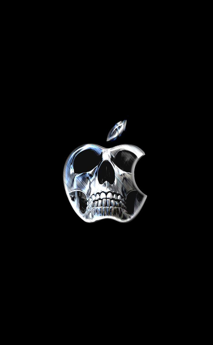 Skull Apple Apple Logo Wallpaper Iphone Apple Wallpaper Iphone Apple Iphone Wallpaper Hd