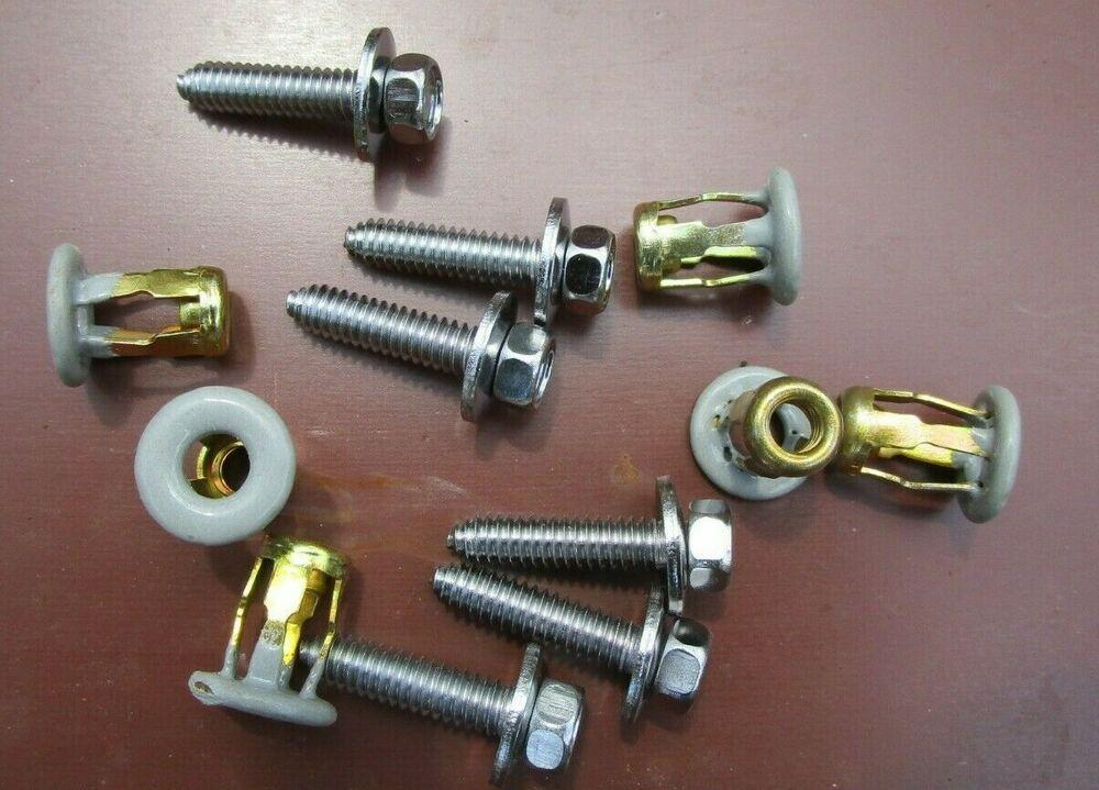 1 4 20 X 1 Jack Nuts Screws Stainless Steel Mirrors Roof Racks Panels Txdashcovers Roof Jack Nuts Screws