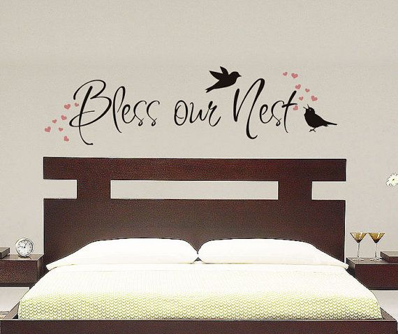 Wall Tattoo Sweet Dreams with Feathers Stars 10962 Dreams Bedroom Decoration