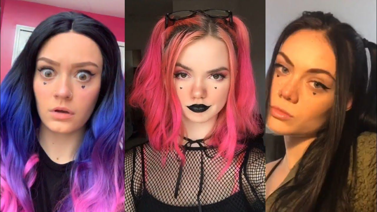 E Girl Factory Tik Tok Meme Compilation Me Me Me Dance Compilation In 2020 Top Hairstyles Hair Styles Girl Hairstyles