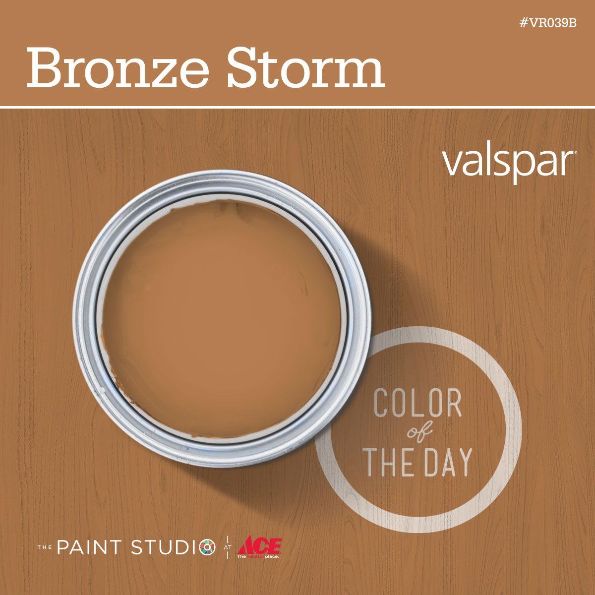 Color Of The Day Bronze Storm By Valspar 31daysofcolor Paint Inspiration Thepaintstudio Valspar Colors Color Of The Day Exterior Paint Colors