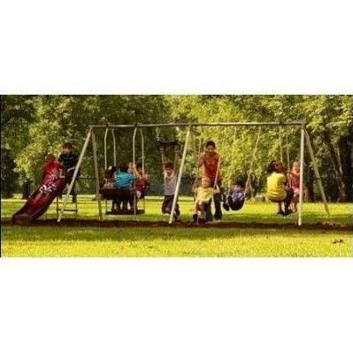 Flexible Flyer Fantastic Playground Metal Swing Set Playground
