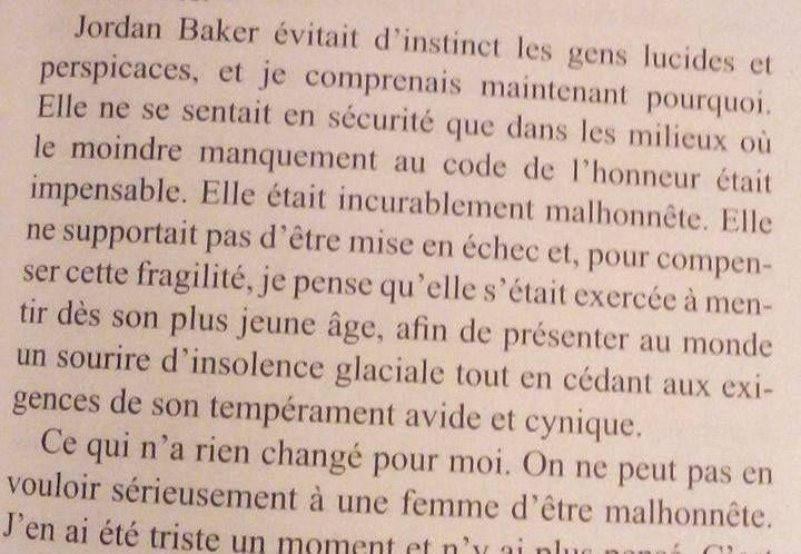 Gatsby Le Magnifique Lecture Du Moment Proverbs