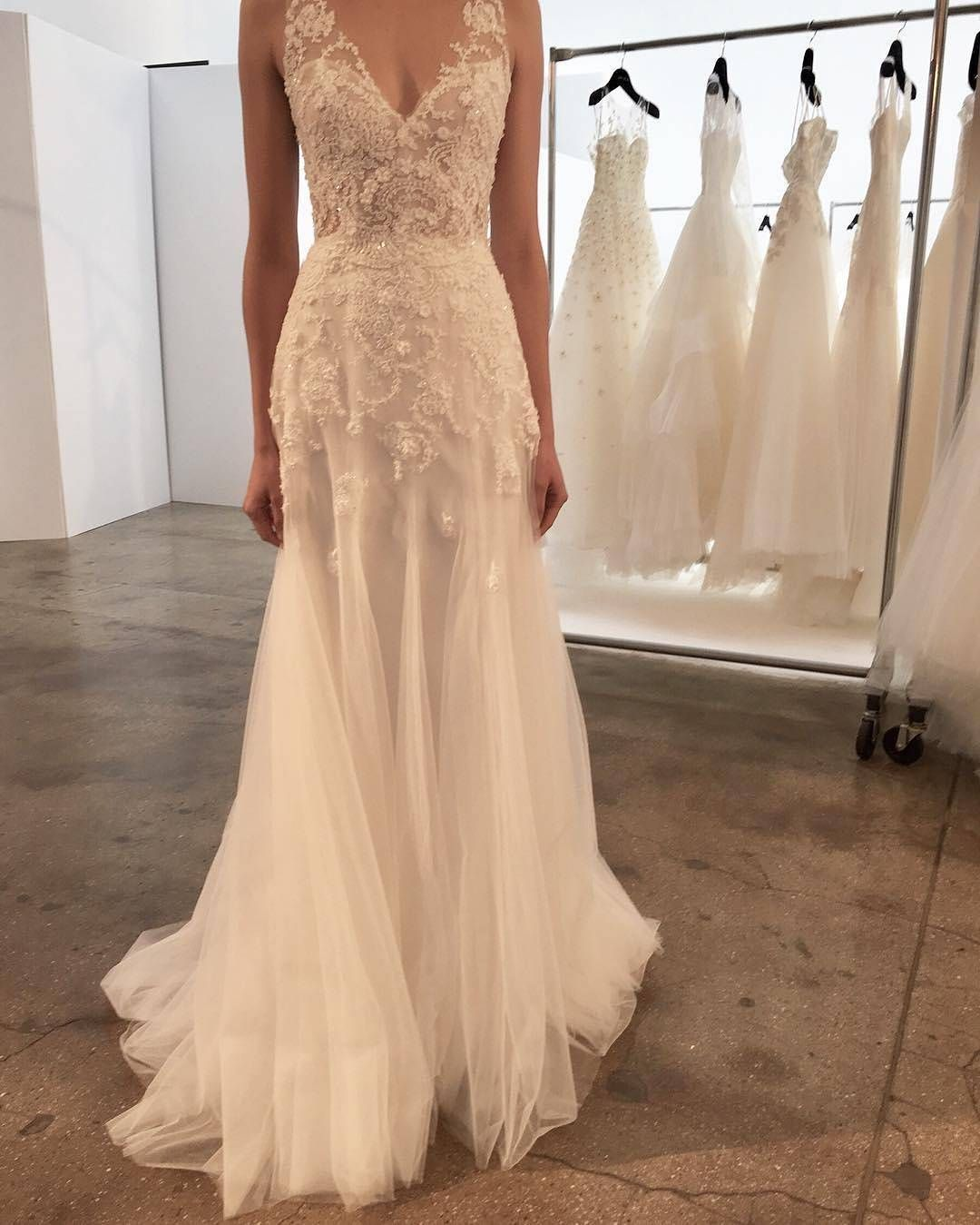 613 likes 15 comments christos christosbridal on instagram handmade beach wedding dresses 2017 long custom wedding gowns bridal dress from superbweddingdress ombrellifo Gallery