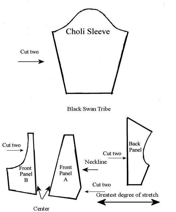Black Swan Tribe in WA, Tribal/ATS Belly Dance Costume: Free Choli ...