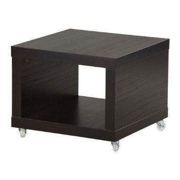 Amazon Com Ikea Lack Coffee Side Table Multi Use On Casters Black Brown Coffee Table With Wheels Ikea Lack Coffee Table Ikea Lack Ikea Lack Side Table