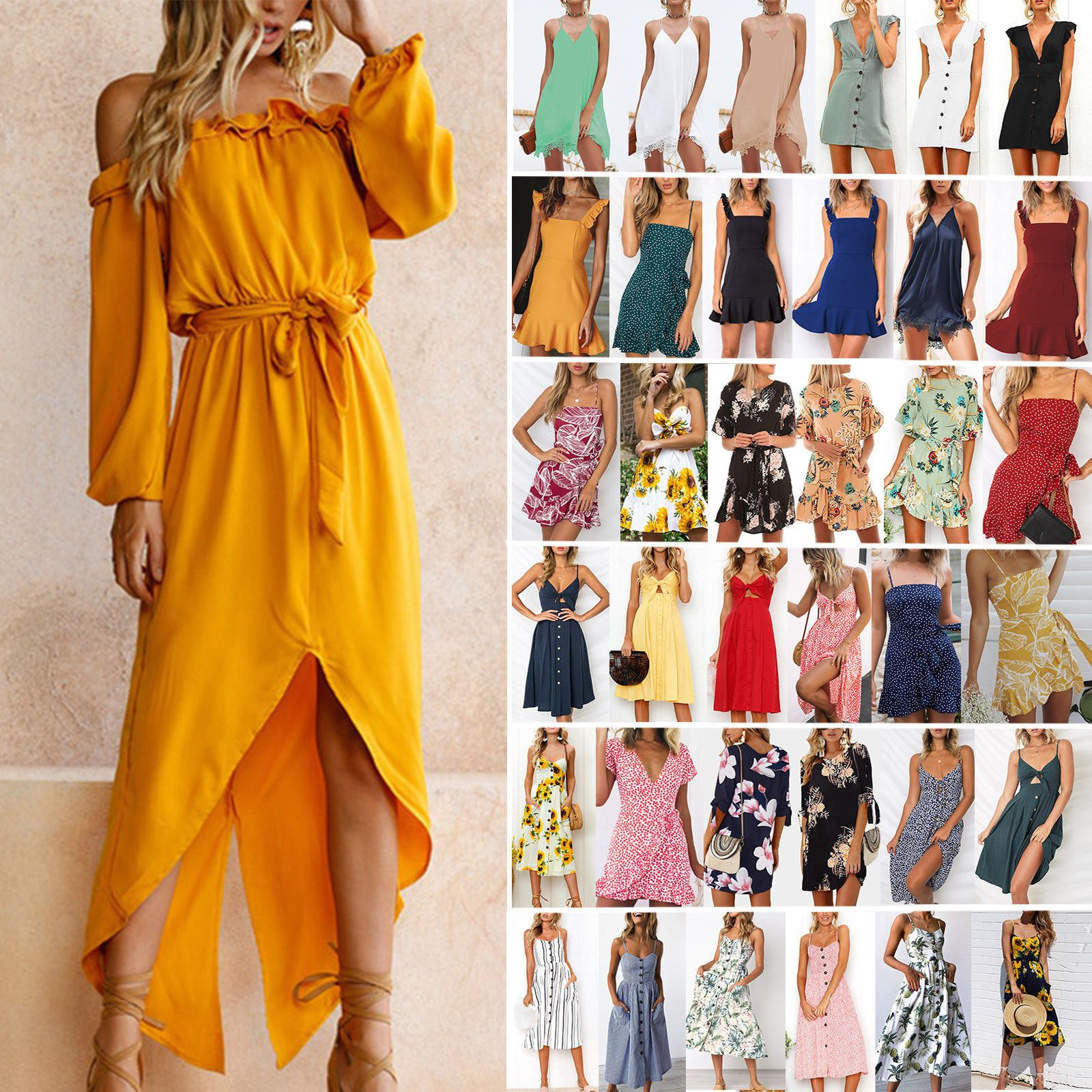 Women Vintage V Neck 1950s Audrey Rockabilly Cocktail Swing Dresses Cap Sleeve Swing Dresses Pleated Party Dress Sleeveless Swing Dress Floral Dress Summer [ 1600 x 1600 Pixel ]