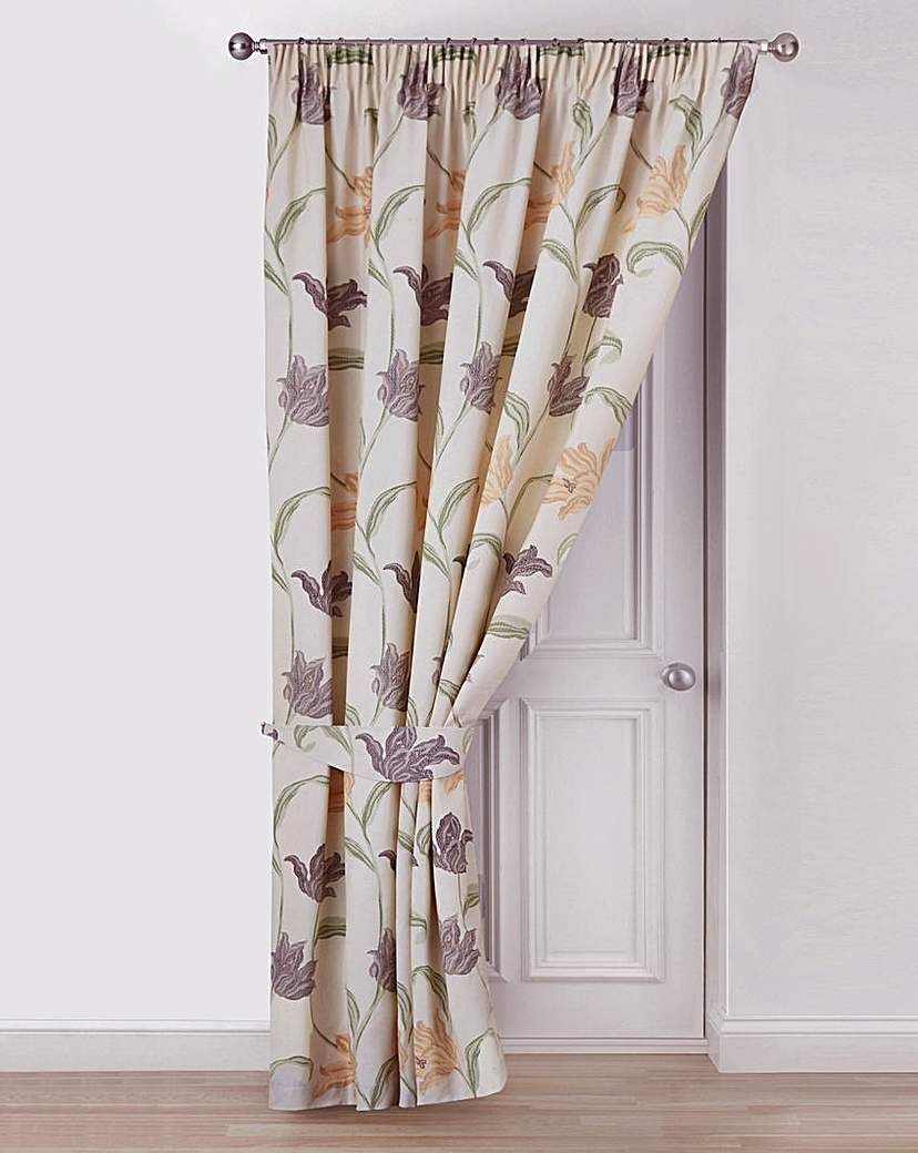 Kinsale Lined Door Curtain Curtains Door Curtains Diy Blinds