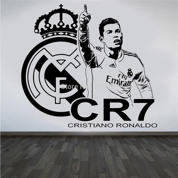 3d soccer star cristiano ronaldo vinyl wall sticker stuff to buy wall sticker 3d soccer star cristiano ronaldo voltagebd Image collections
