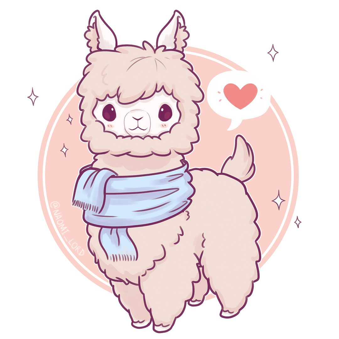 Drew Another Alpaca And Thought It Was Really Interesting To