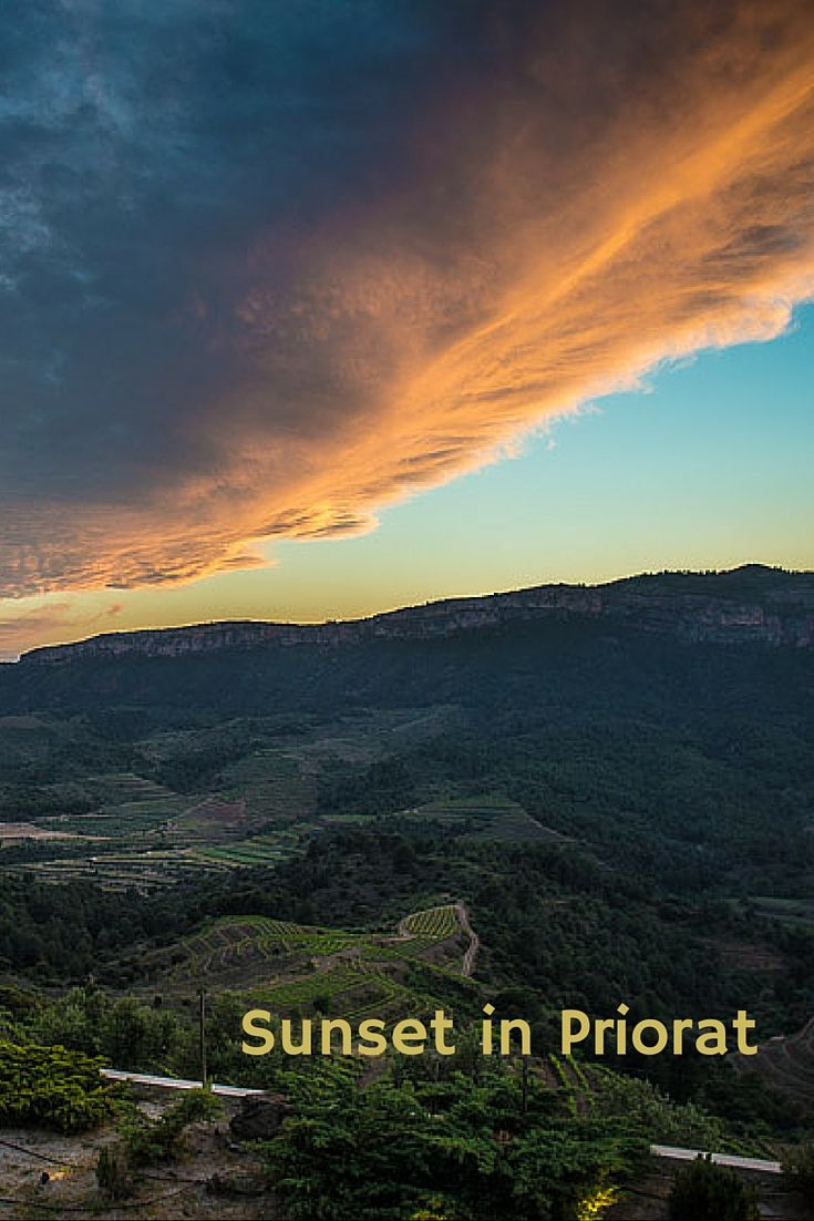 Sunset, Priorat, Catalunya, Spain - Travel Past 50